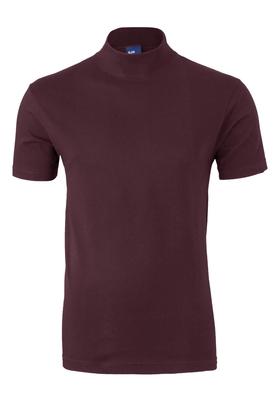 Alan Red T-shirt Aspen, turtleneck, aubergine