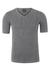 Schiesser 95/5, heren T-shirt V-hals, grijs