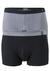 Actie 2-pack: Schiesser 95/5, boxershorts, grijs en zwart