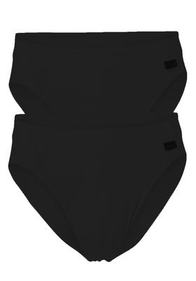 Schiesser Authentic Rio slip, 2-pack, zwart