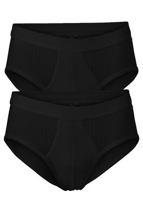SCHIESSER Authentic sportslips (2-pack), zwart