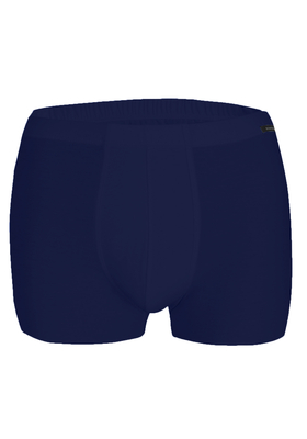 Schiesser Laser Cut, naadloos heren boxershort, blauw