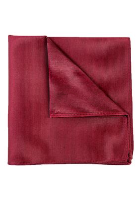 Michaelis pocket square, bordeaux rode pochet