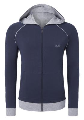 Hugo Boss heren lounge vest, blauw (middeldik)