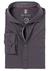 Desoto Slim Fit tricot overhemd, antraciet stretch