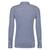 Desoto Slim Fit tricot overhemd, donkerblauw-wit gestreept stretch
