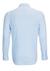 Desoto Slim Fit tricot overhemd, lichtblauw-wit geruit stretch