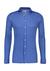 DESOTO slim fit overhemd, stretch tricot, jeans blauw structuur