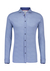 Desoto Slim Fit tricot overhemd, jeans blauw structuur stretch