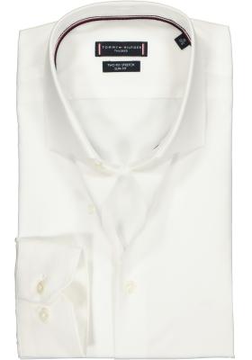 Tommy Hilfiger Core stretch Slim Fit overhemd, wit