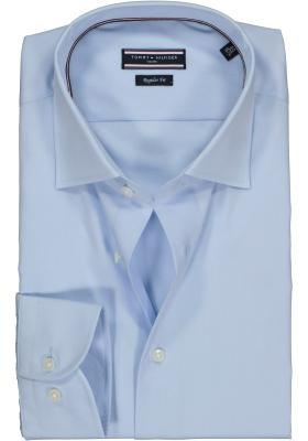 Tommy Hilfiger Core Poplin Classic shirt, Regular Fit, lichtblauw overhemd