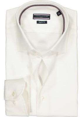 Tommy Hilfiger Core stretch Regular Fit overhemd, wit Oxford