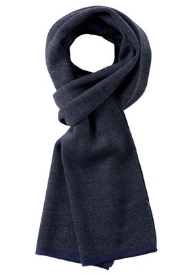 Michaelis heren sjaal, blauw melange