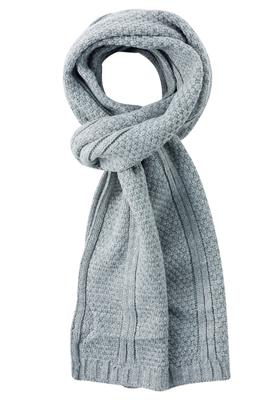 Michaelis heren sjaal, grijs gebreid