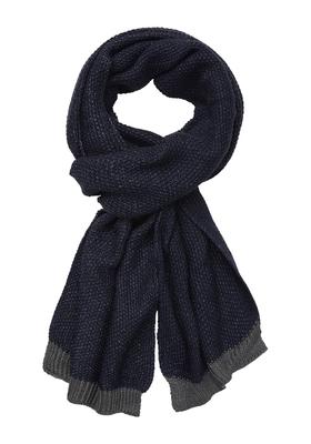 Michaelis heren sjaal, blauw-grijs melange