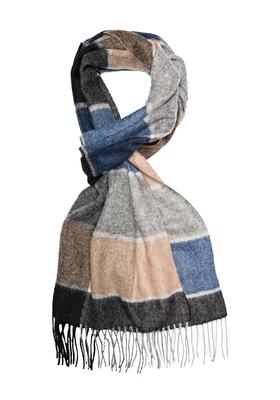 Michaelis heren sjaal, grijs-blauw geruit