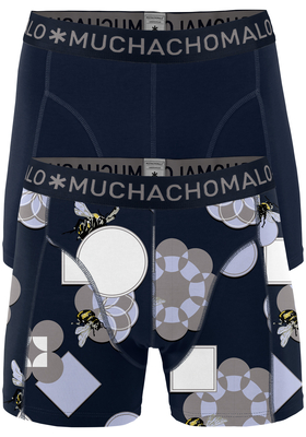 Muchachomalo boxershorts, 2-pack, Pollinate