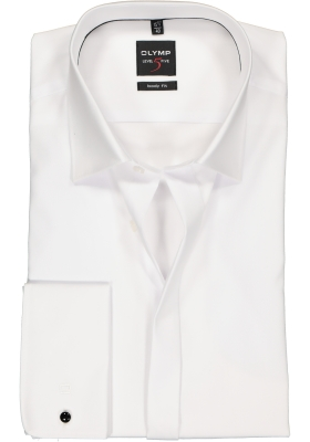 OLYMP Level 5 Smoking overhemd mouwlengte 7, gladde stof (Kent)