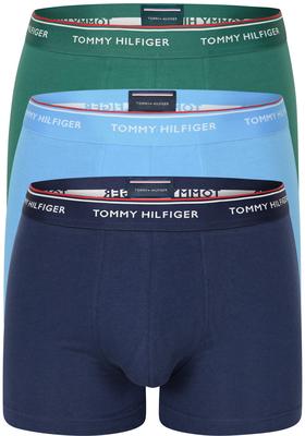 Tommy Hilfiger boxershorts (3-pack), blauw en groen