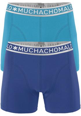 Muchachomalo boxershorts 2-pack, blauw