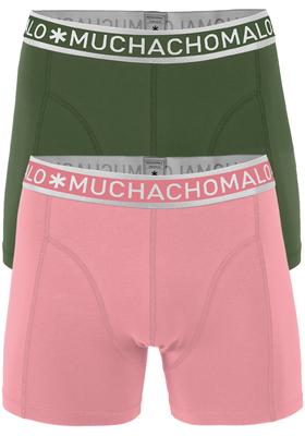Muchachomalo boxershorts 2-pack, army en roze