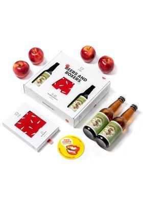Heren cadeaubox: A-dam boxer rood + bier