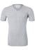 Lacoste 2-pack Cotton Stretch, slim fit T-shirts V-hals grijs