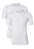 Lacoste 2-pack Cotton Stretch, slim fit T-shirts O-hals wit