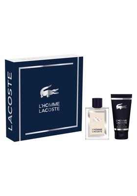 Heren cadeauset: Lacoste: L'homme Lacoste 100ml + douschegel