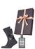 Heren cadeaubox: Burberry Britt parfum met geruite Tommy Hilfiger sokken