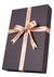 Heren cadeaubox: Burberry Britt parfum met zwart-grijze stropdas