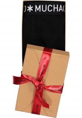 Muchachomalo boxershort zwart, in cadeauverpakking