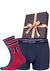 Heren cadeaubox: Tommy Hilfiger boxershort + 2-pack Tommy Hilfiger sokken sportief