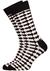 Happy Socks cadeauset, 3-pack Zwart-wit