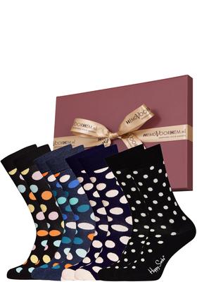 Happy Socks cadeauset, 4-pack Stip of stip