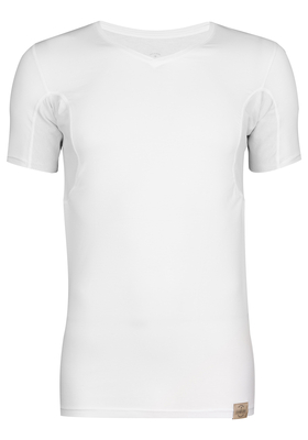 RJ Bodywear The Good Life, Sweatproof T-shirt, oksel, wit
