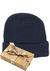 Muts Michaelis in cadeauverpakking, blauw met omslag