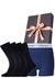 Heren cadeaubox: Calvin Klein boxer + 2-pack Calvin Klein sokken