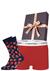 Heren cadeaubox: Calvin Klein boxer + Happy Socks