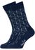 Heren cadeaubox: Calvin Klein boxer blauw + Happy Socks