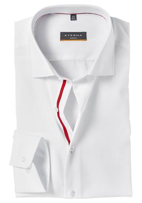 Eterna Slim Fit overhemd, wit (Valentijn)