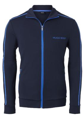 Hugo Boss heren lounge vest, donkerblauw (middeldik)