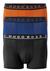 Hugo Boss trunk (3-pack), kobalt, zwart en oranje