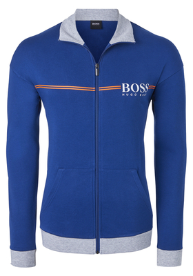 Hugo Boss heren lounge vest, kobaltblauw