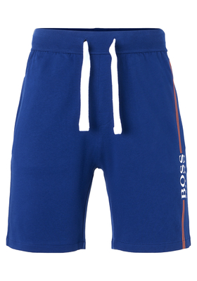 Hugo Boss heren lounge broek kort, blauw