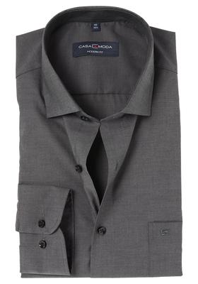 Casa Moda Modern Fit overhemd, antraciet grijs