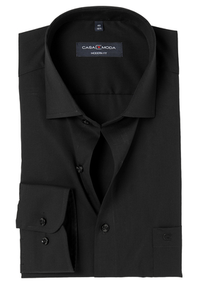 Casa Moda Modern Fit overhemd, zwart