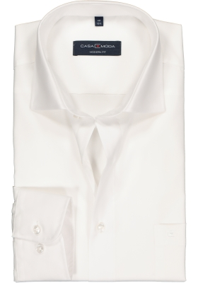 Casa Moda Modern Fit overhemd, mouwlengte 72 cm, wit