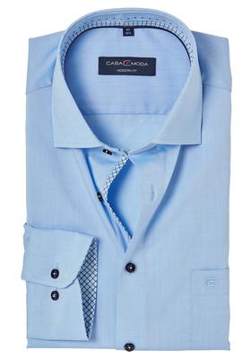 Casa Moda Modern Fit overhemd, lichtblauw (contrast)
