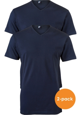ALAN RED T-shirts Vermont (2-pack), donkerblauw